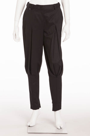 Original Alexander McQueen - Black Jodhpur Style Pants - IT 40