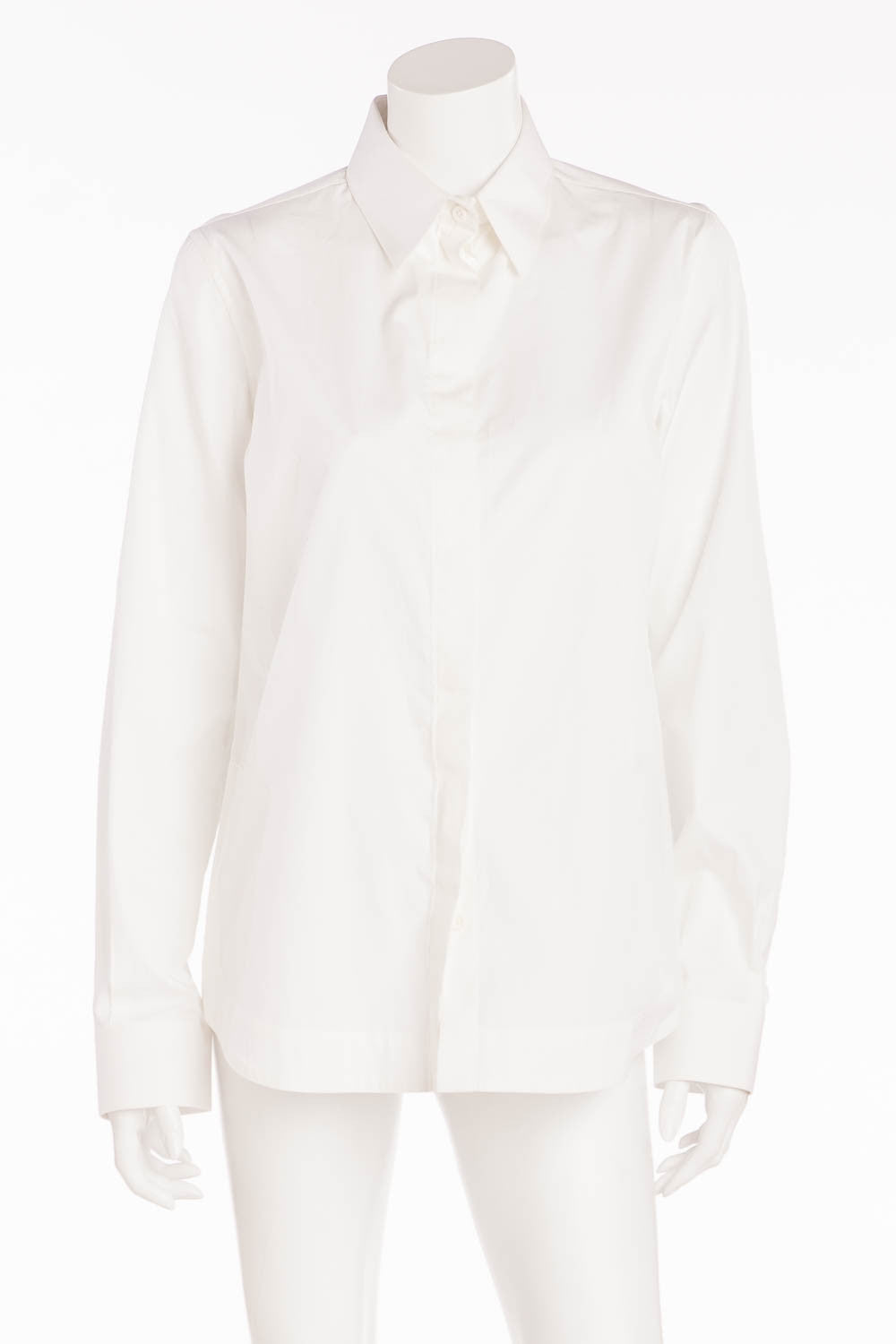 Givenchy - White Long Sleeve Button Down NWT - FR 40
