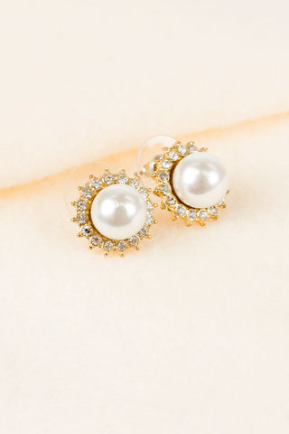 Sunshine Pearl Earrings