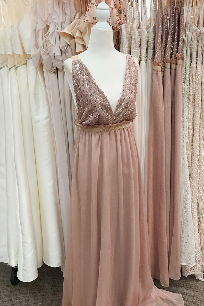 Summer Symphony Evening Gown