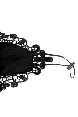 Black-Lace-Fabric-Face-Mask-Dressy-for-Special-Occasions