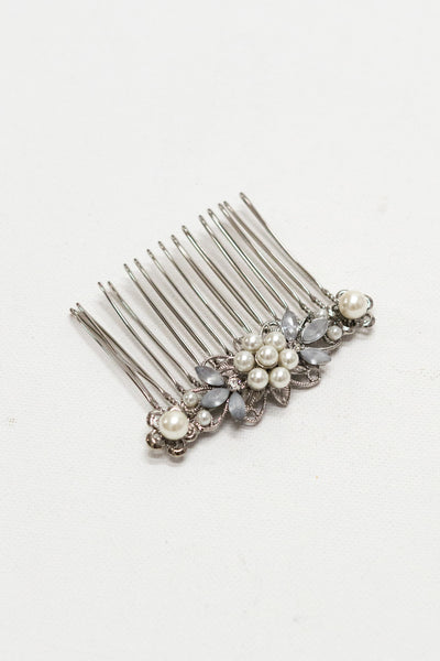 Petite Flower Bridal Hair Comb