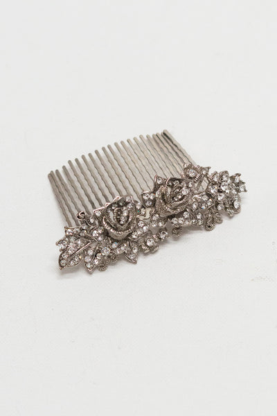 Wild Roses Hair Comb