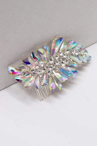 Ice Princess Crystal Hair Comb