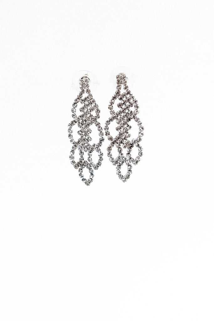 Rhinestone Earrings |