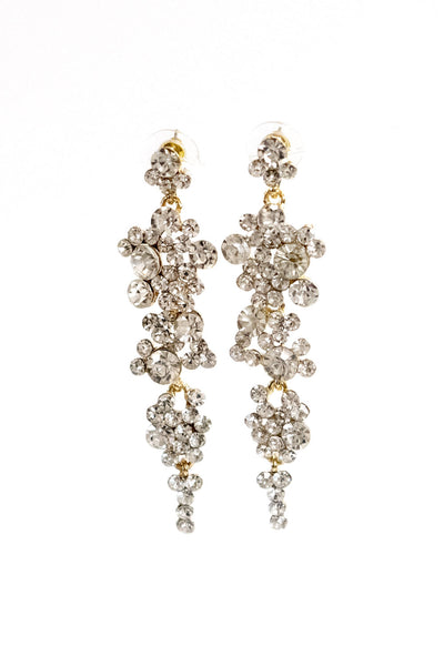 Miranda Crystal Earrings in Basic Colors