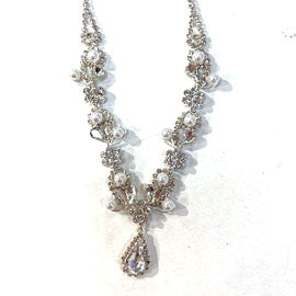 Rhinestone Necklace Set | NSR0033