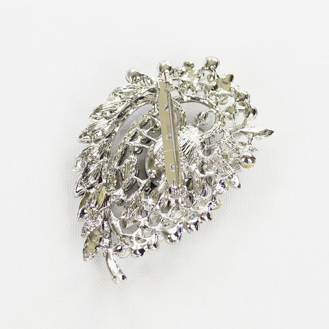 Crystal Hurricane Brooch
