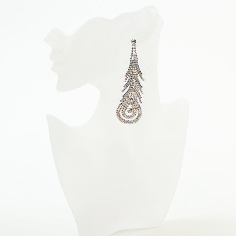 Formal Rhinestone Earrings