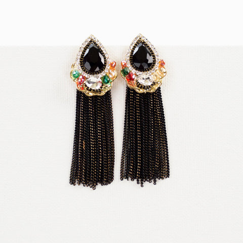 Indian Summer Tassel Earrings