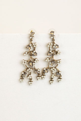 Anthropology Inspired Bridal Earrings
