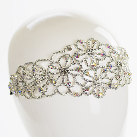 Daisy Stretch Rhinestone Headband