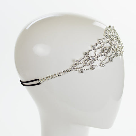 Flower Lace Crystal Headband