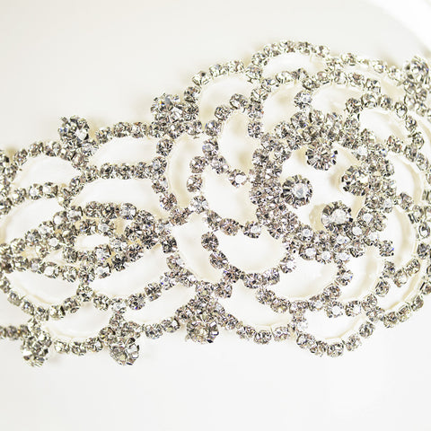 Flower Lace Bridal Headband