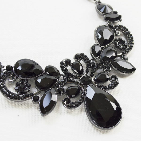 Black Fashion Statement Bracelet
