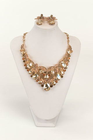 Crystal Necklace Set | NSC0009