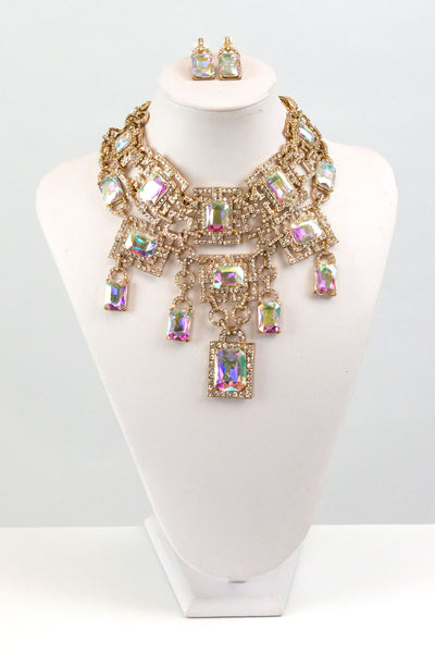 Elizabeth Statement Necklace Set