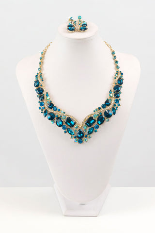 Crystal Necklace Set | NSC0001