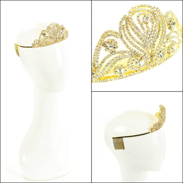 Gold Bridal Tiara