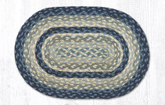 MS-362 Breezy Blue/Taupe/Ivory Miniature Trivet