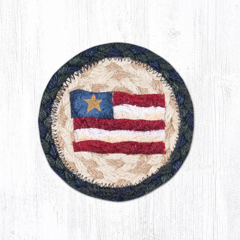 IC-015 Primitive Star Flag Individual Coaster
