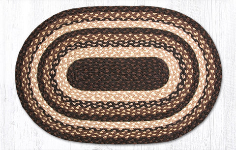 braided f round kmart rug product