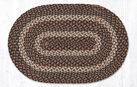 C-770 Tan Braided Rug