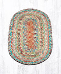 C-328 Multi 1 Color Braided Rug