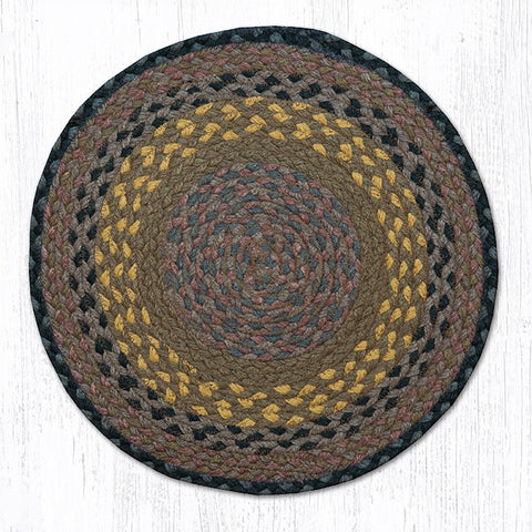 CH-099 Brown/Black/Charcoal Chair Pad