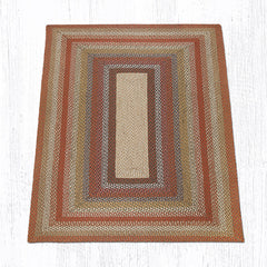 C-300 Honey, Vanilla and Ginger Braided Rug