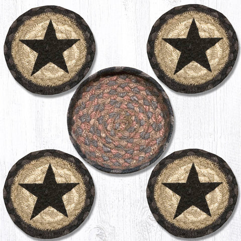 CNB-099 Star Coasters In A Basket