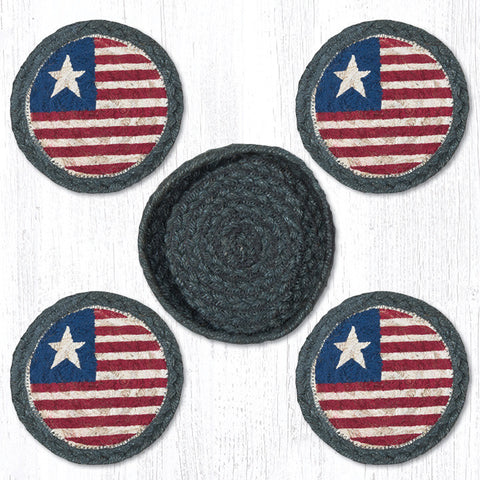 CNB-1032 Original Flag Coasters