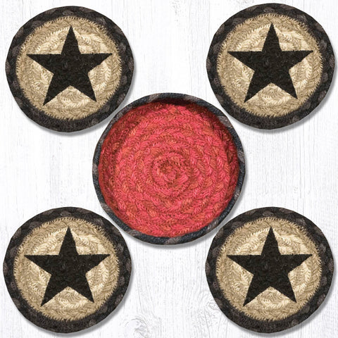 CNB-238 Star Coasters In A Basket