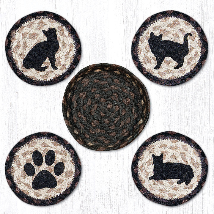 CNB-313 Porch Cat Coasters