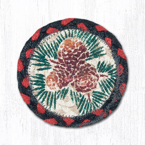 IC-019 Pinecone Individual Coaster