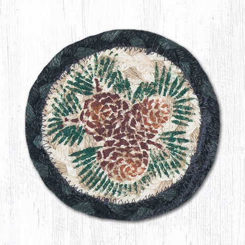 IC-025A Pinecone Individual Coaster