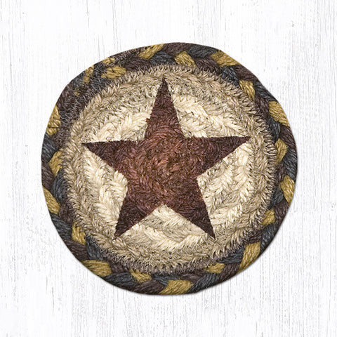 IC-051 Gold Star Individual Coaster