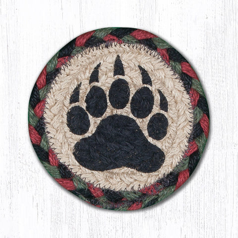 IC-081 Bear Paw Individual Coaster