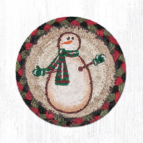 IC-081 Moon & Star Snowman Individual Coaster
