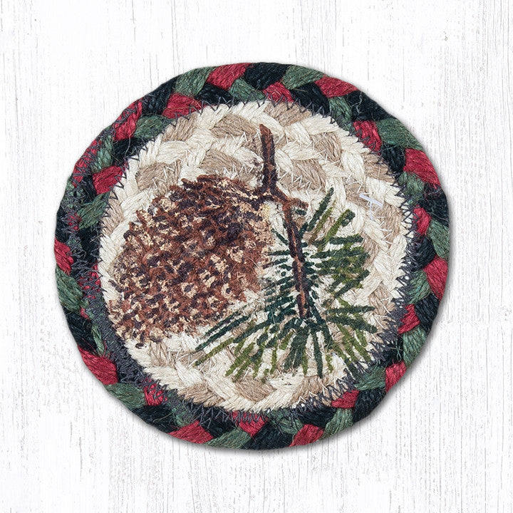 IC-081 Pinecone Individual Coaster