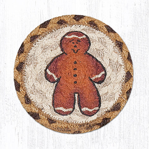IC-111 Gingerbread Man Individual Coaster