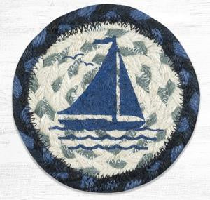 IC-443 Sailboat Individual Coaster