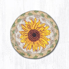 IC-529 Sunflower Individual Coaster