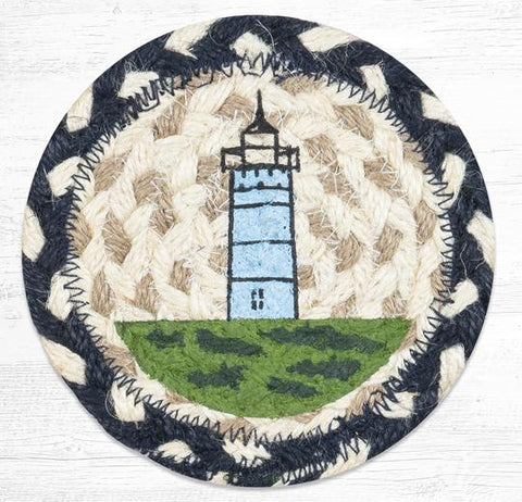 IC-619 Nubble Lighthouse Individual Coaster