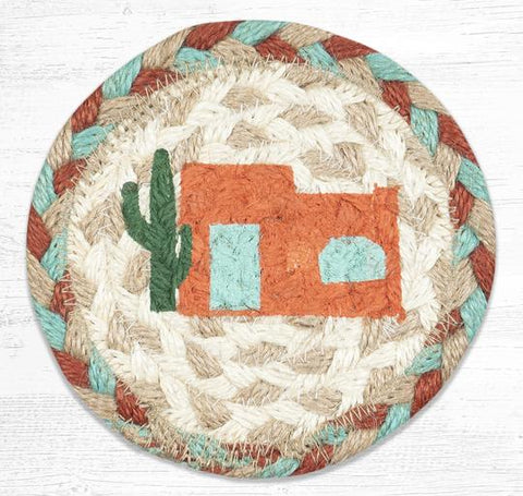 IC-782 Adobe Home Individual Coaster