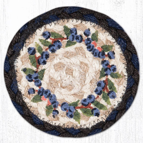IC-312 Blueberry Vine Individual Coaster