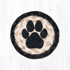 IC-313 Dog Paw Individual Coaster