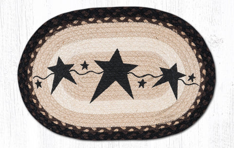PM-OP-313 Primitive Stars Black Placemat 13