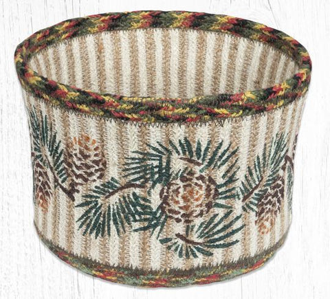 RNB-81 Pinecone Natural Rope Braided Basket 9