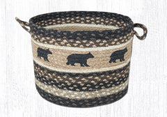 UBP-313 Cabin Bear Utility Baskets